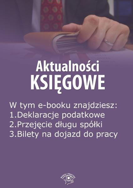 Aktualności księgowe, wydanie wrzesień 2014 r. Część 2