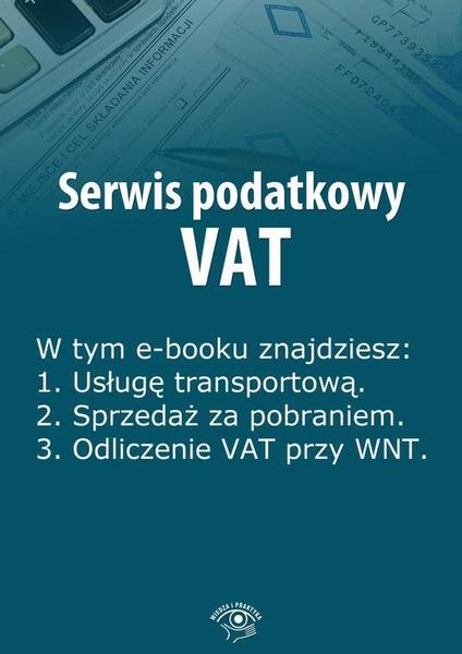 Serwis podatkowy VAT, wydanie kwiecień 2014 r.
