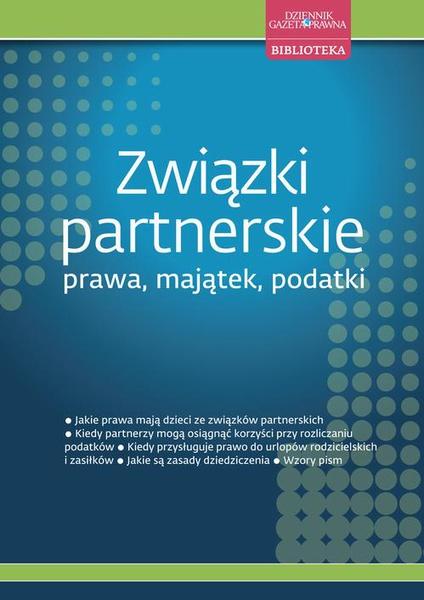 Związki partnerskie – prawa, majątek, podatki