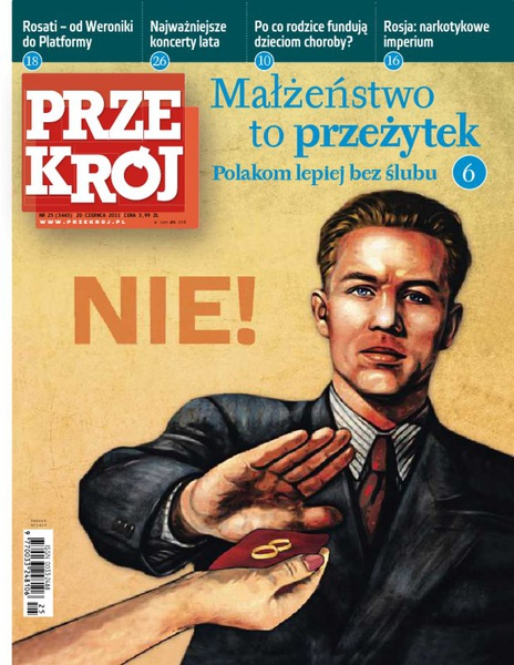 """""""Przekrój"""" nr 252011"""
