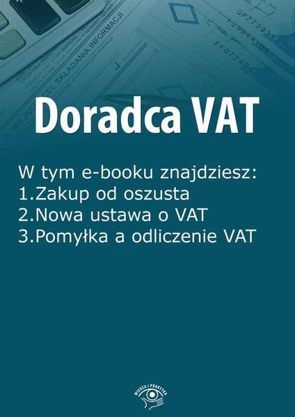 Doradca VAT, wydanie styczeń 2016 r.