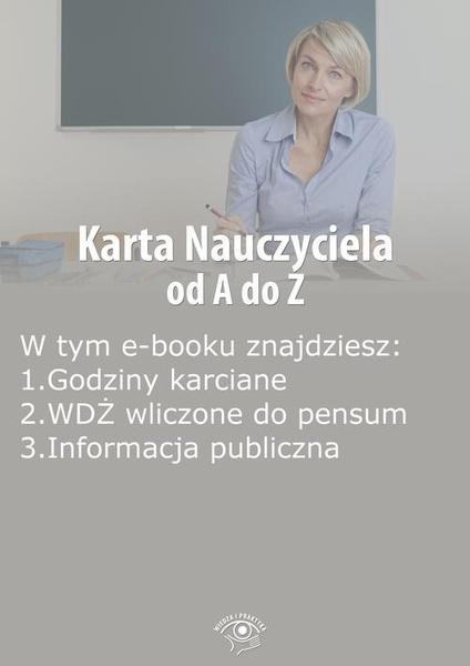 Karta Nauczyciela od A do Z, wydanie październik 2014 r.