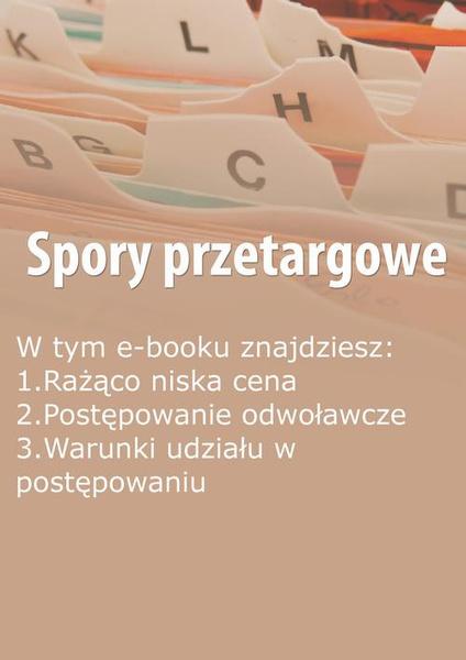Spory przetargowe, wydanie listopad 2014 r.
