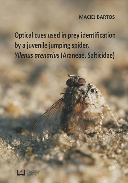 Optical cues used in prey identification by a juvenile jumping spider, Yllenus arenarius (Araneae, Salticidae)