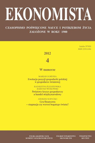 Ekonomista 2012 nr 4