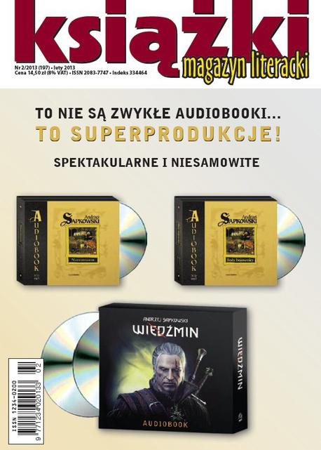 Magazyn Literacki KSIĄŻKI - nr 2/2013 (197) - Opracowanie zbiorowe