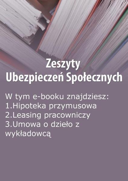Zeszyty Ubezpieczeń Społecznych, wydanie listopad 2014 r.