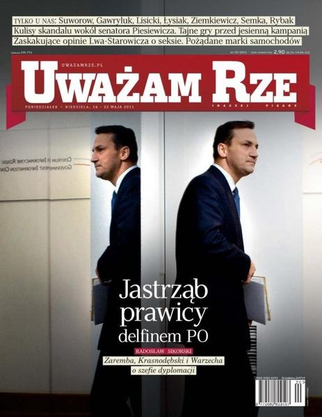 """""""Uważam Rze. Inaczej pisane"""" nr 15/2013"""