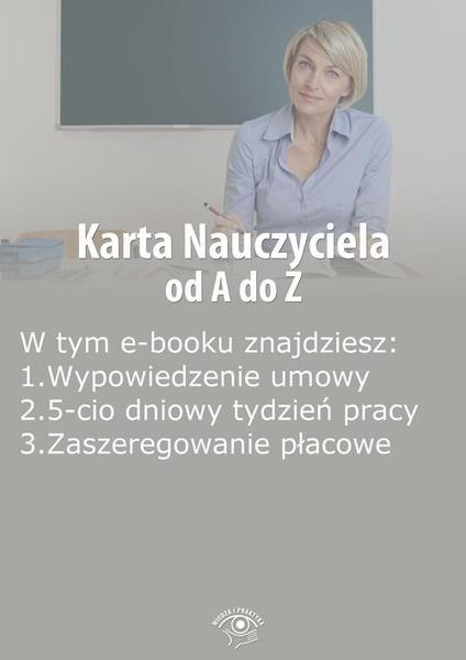 Karta Nauczyciela od A do Z, wydanie wrzesień 2014 r.