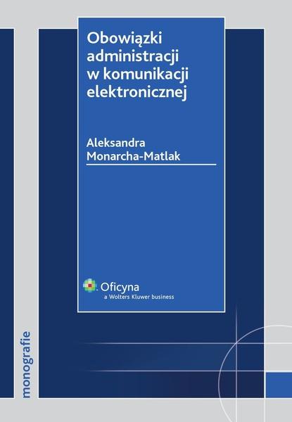 Obowiązki administracji w komunikacji elektronicznej