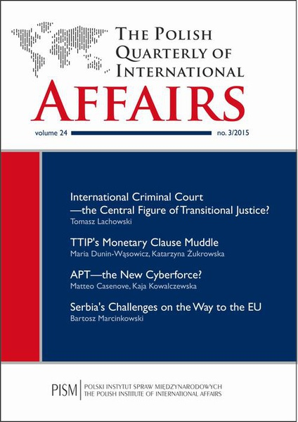 The Polish Quarterly of International Affairs nr 3/2015