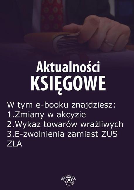 Aktualności księgowe, wydanie wrzesień 2015 r. część II - Zbigniew Biskupski