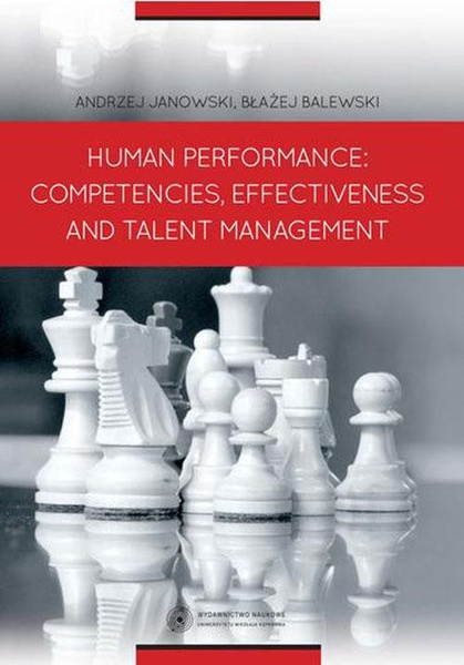 Human Performance: Competencies, Effectiveness And Talent Management