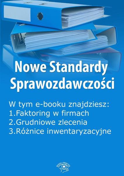 Nowe Standardy Sprawozdawczości , wydanie grudzień 2014 r. część I
