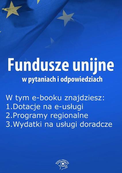 Fundusze unijne w pytaniach i odpowiedziach, wydanie kwiecień 2015 r.