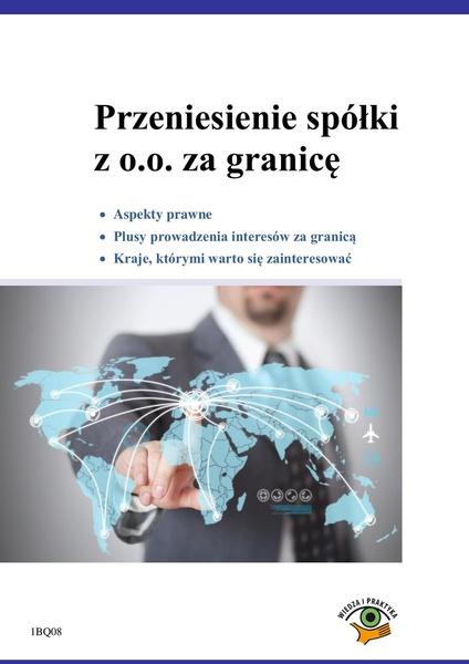 Przeniesienie spółki z o.o. za granicę