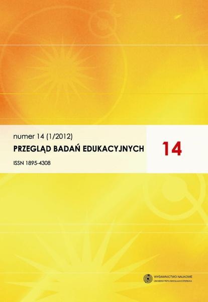 Przegląd Badań Edukacyjnych, nr 14 (1/2012)