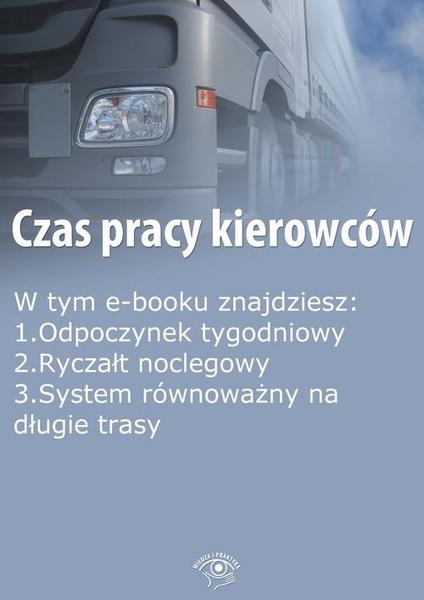 Czas pracy kierowców, wydanie październik 2014 r.