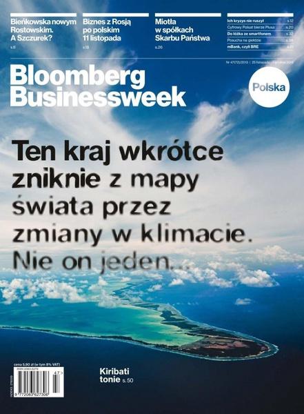 """""""Bloomberg Businessweek"""" wydanie nr 47/13"""